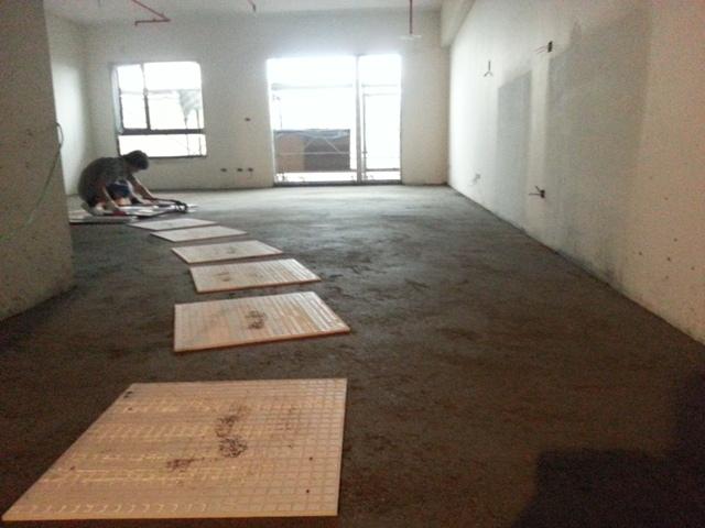室內地磚施工