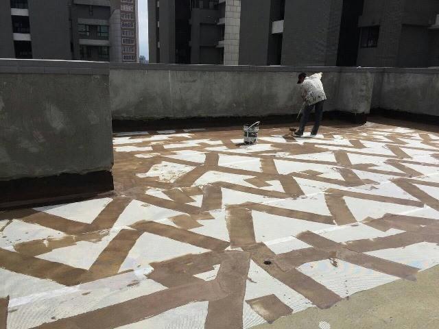 屋頂防水施工2