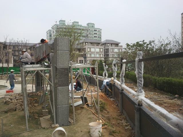 景觀圍牆施工
