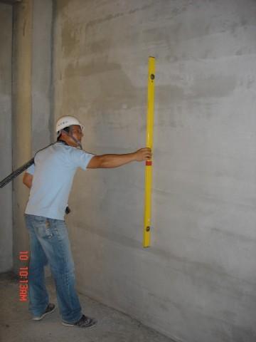 牆面粉刷檢查