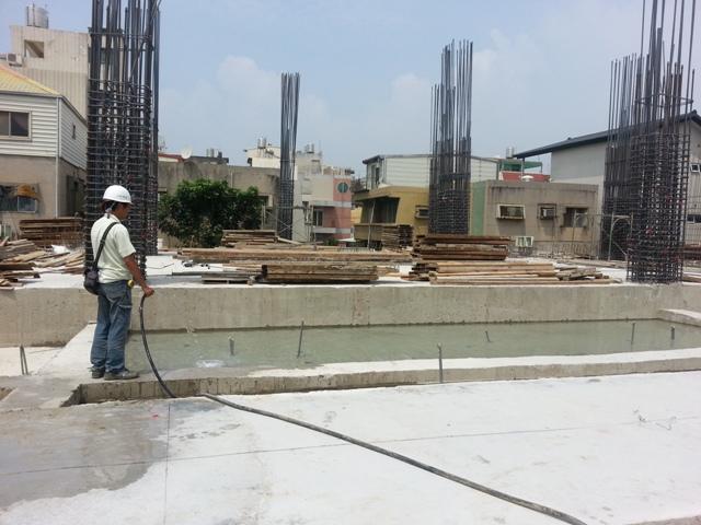 花台水池蓄水養護