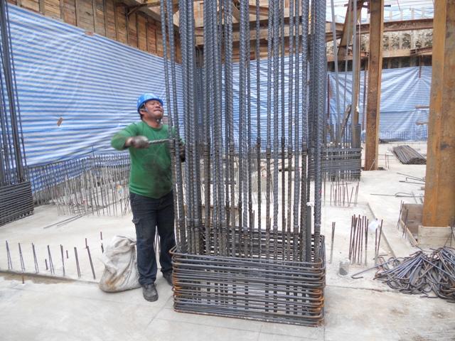 B3結構柱筋續接